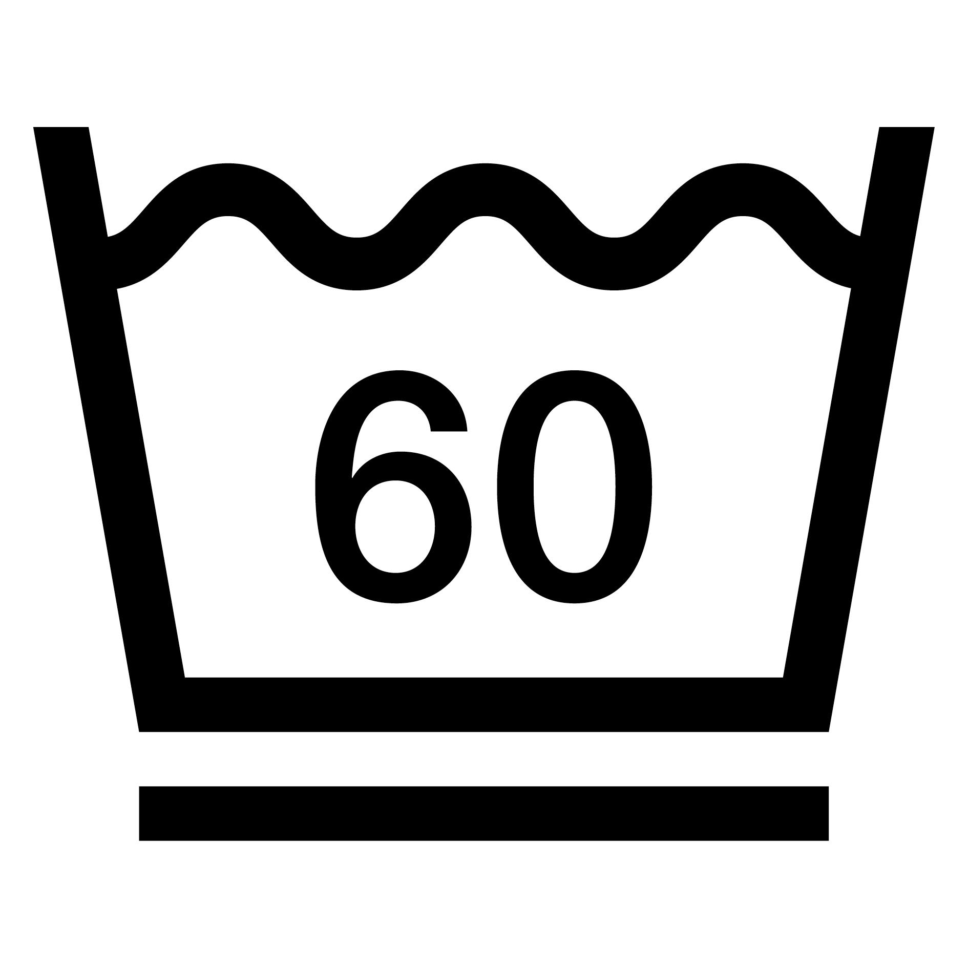 60°C mild wash