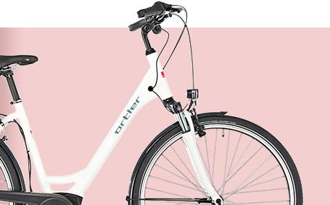 Ortler Wien - Ein Trekking- und City-E-Bike der Extraklasse