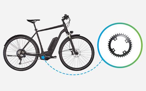 plateau vélo électrique et VAE