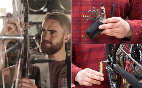 Fahrradwerkzeug von Abzieher bis Zange