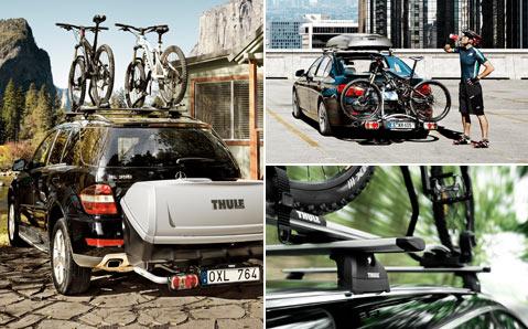 Fahrradträger für Dach- und Heckmontage