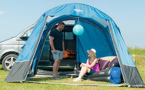 Vorzelte – Mehr Platz für den Campingbus