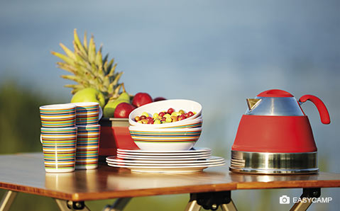 Campinggeschirr – Für gepflegte Mahlzeiten in der Natur