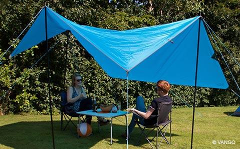Sonnensegel und Tarps – Die leichte Alternative zum Zelt