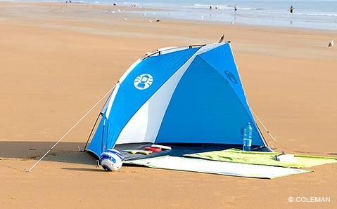 Windschutz & Strandmuscheln – Schutz vor Wind und Sonne