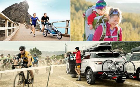 cykelvagnar och takräcken