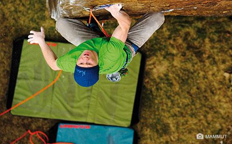Crashpad – Sicherer Bouldern.