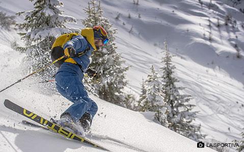Ski Hosen – Den Schneefang nicht vergessen.