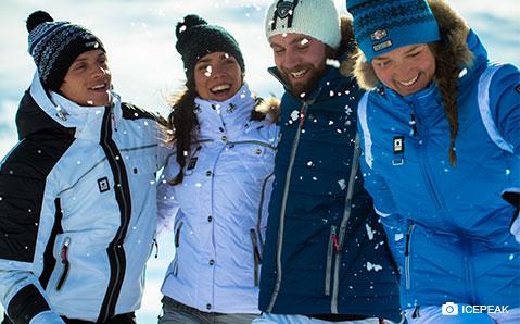 Skijacken – Für alpine Abenteuer.
