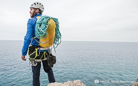Kletterrucksäcke & Seilsäcke – Guter Schutz für Seil und Co.