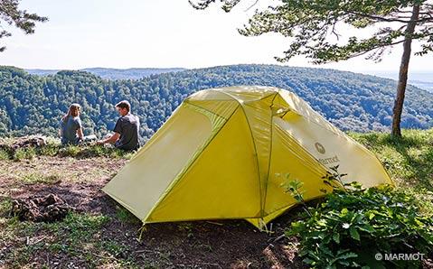 2-Personen Zelte – Zusammen weniger allein