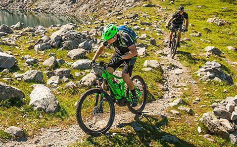 E-Mountainbike Fullys