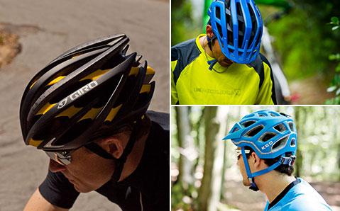 Cykelhjälmar