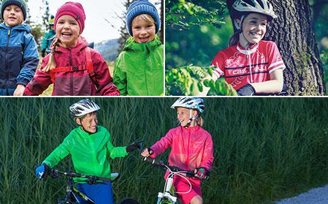 Cykelkläder för barn
