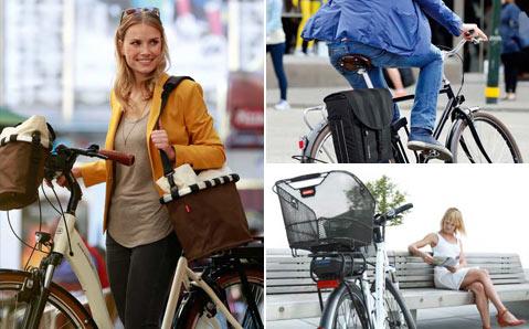 Fahrradkörbe & Koffer für Gepäckträger & Lenker