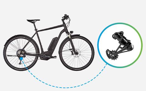 E-Bike Schaltwerke
