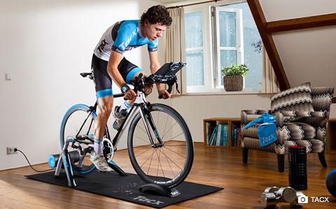 Trening innendørs med Tacx