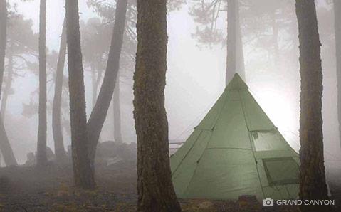 Crand Canyon telt