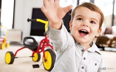 Børnecykel fra Puky