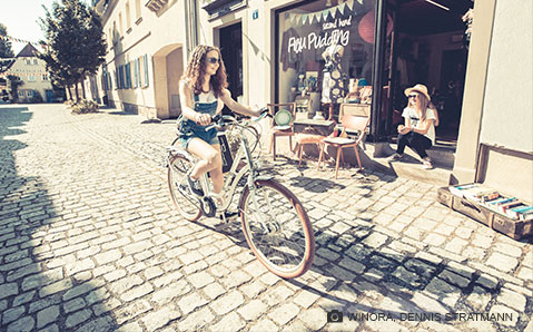 Winora cykel