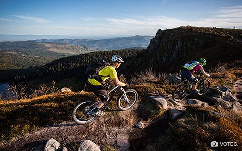 All mountain og enduro bikes