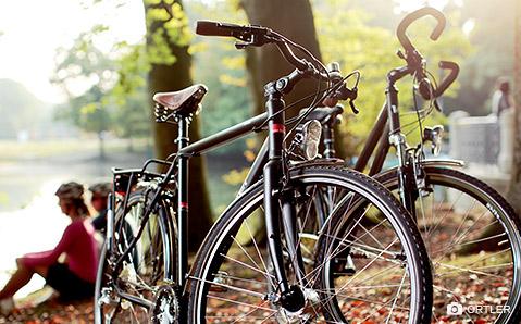 Ortler-pyörät pelastavat arjen