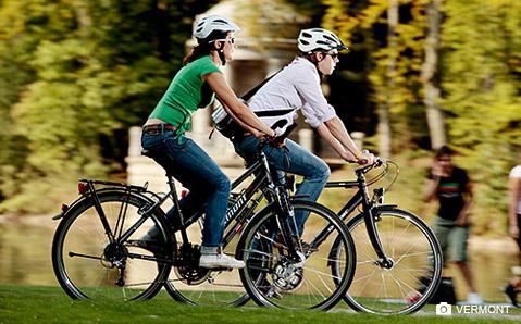 Vermont on koko perheen pyörämerkki