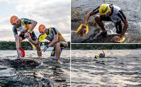 Swimrun-kilpa sopii täydellisesti saaristoon