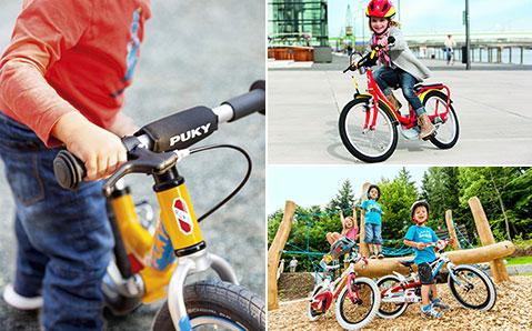 Polkupyörät ja potkupyörät lapsille