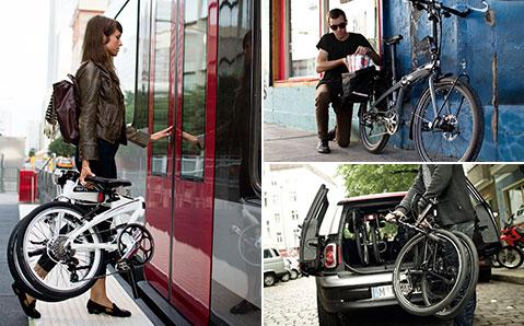Taitettavat polkupyörät tekevät matkanteosta joustavampaa