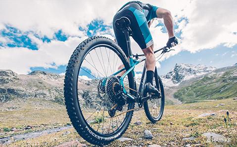 MTB-renkaat takaavat pidon maastossa