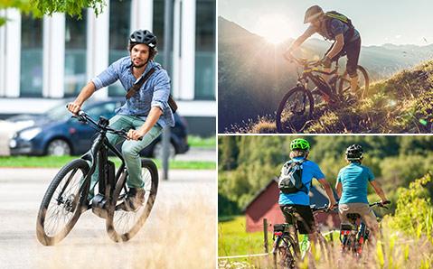 Sähköavusteinen polkupyörä tekee polkemisesta entistä helpompaa