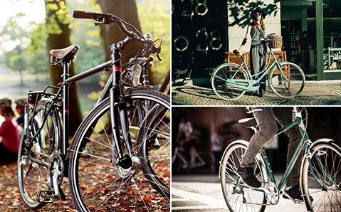 Urbaanit lifestyle-pyörät kestävät katseet kadulla