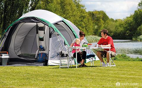 Easy Camp tuo kodin mukavuuden myös matkalle