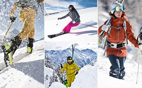 Parhaat varusteet talviurheiluun