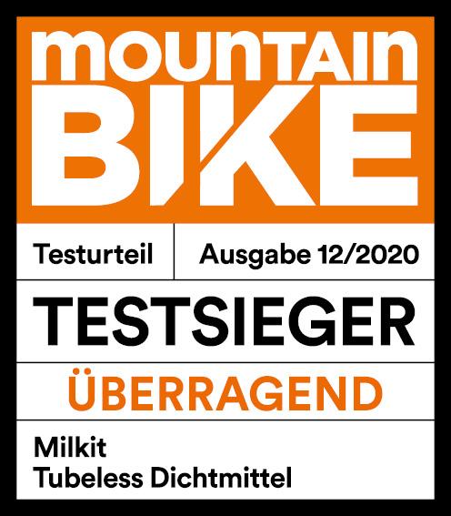 Testsieg Mountain Bike Magazin 12/2020 - Milkkit