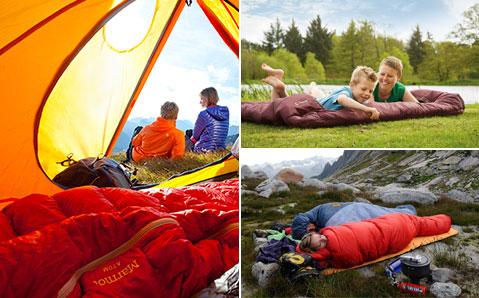 Schlafsäcke & Matten – Komfortabel ruhen.