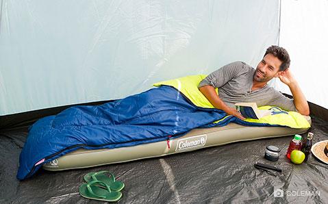 Deckenschlafsäcke – Camping wie früher