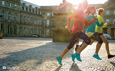 Laufbekleidung – Schick & funktionell in die Saison.