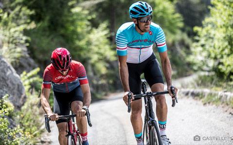 Castelli- Modieuze Italiaanse fietskleding