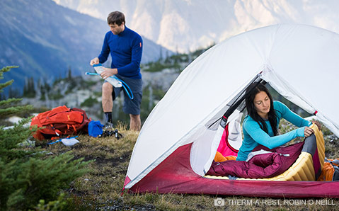camping therm-a-rest