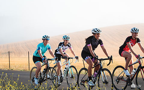 Dames racefietsen