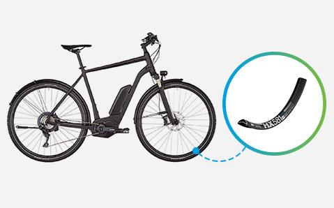e-bike velgen