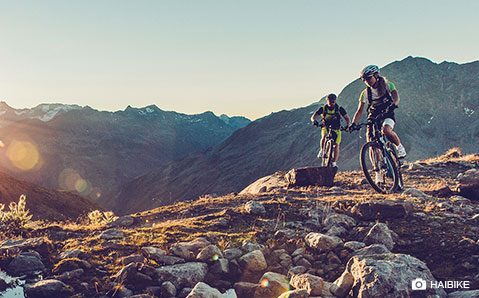 Elektrische mountainbikes