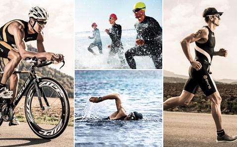 Triathlon uitrusting